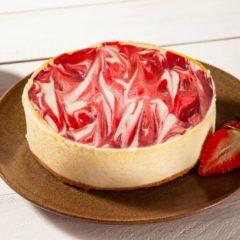 Cheesecake com Cobertura Mesclada de Morango 600g