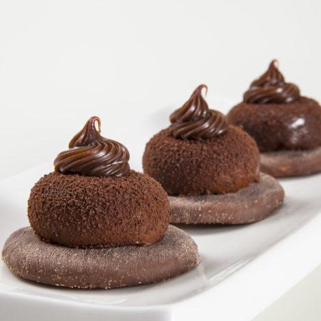 Monoporção de Chocolate ao Leite com Cookies