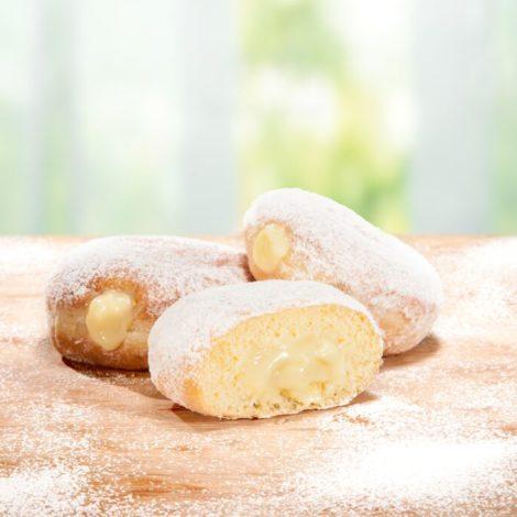 Donuts com Recheio Creme Bavariano 70g