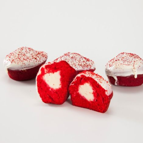 Bolinho Red Velvet com Recheio de Cream Cheese 40g
