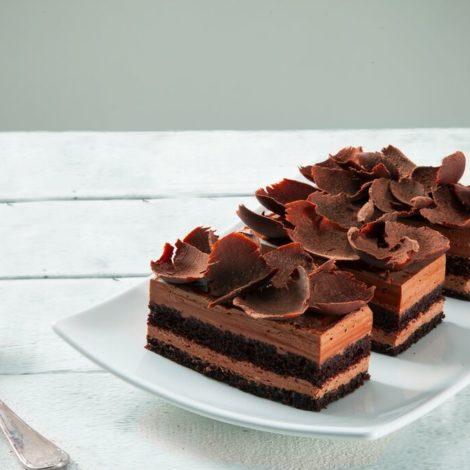 Pão de Ló Sabor Chocolate Retangular