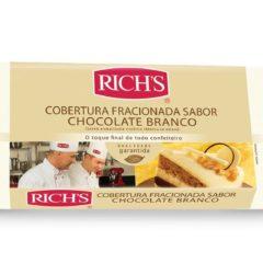 Cobertura Fracionada Sabor Chocolate Branco Rich's