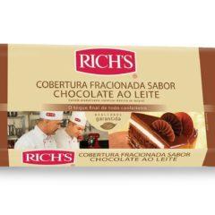 Cobertura Fracionada Chocolate ao Leite