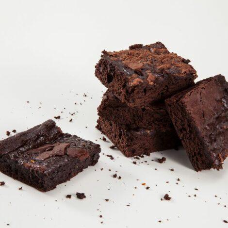 Brownie de Chocolate com pedaços de Chocolate