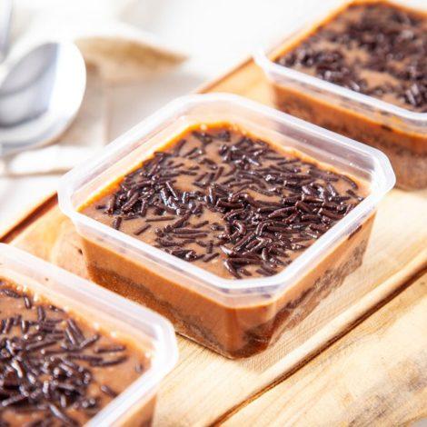 Bolo Cremoso Chocolate
